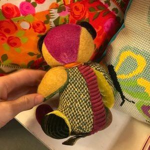 Vintage Accents - Little Patchwork Patch Teddy Bear